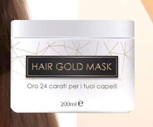 Maschera oro per capelli Hair Gold Mask