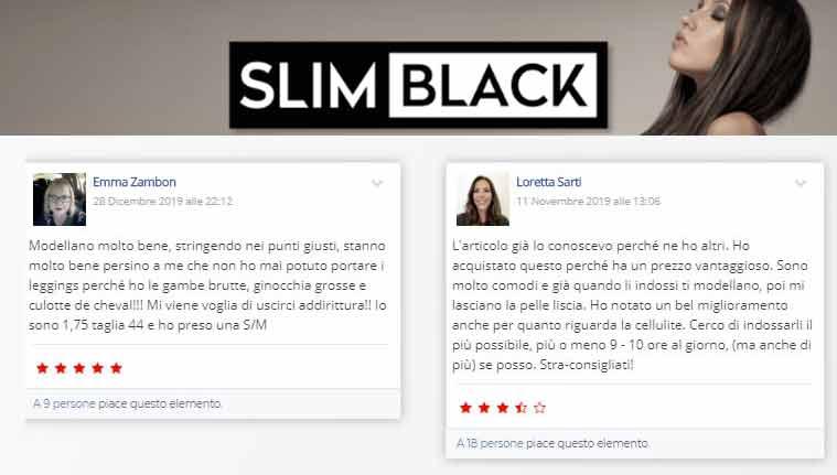 Opinioni su SlimBlack