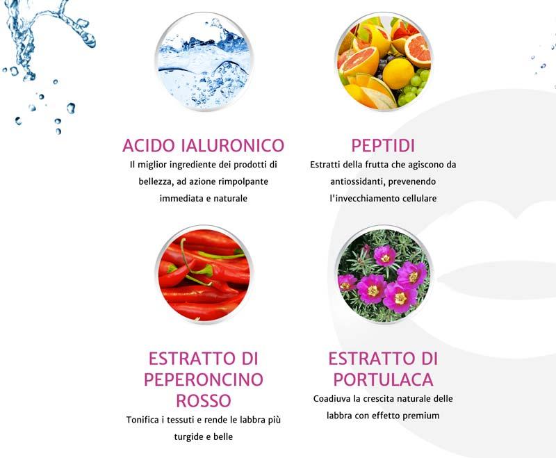Ingredienti di Natulips