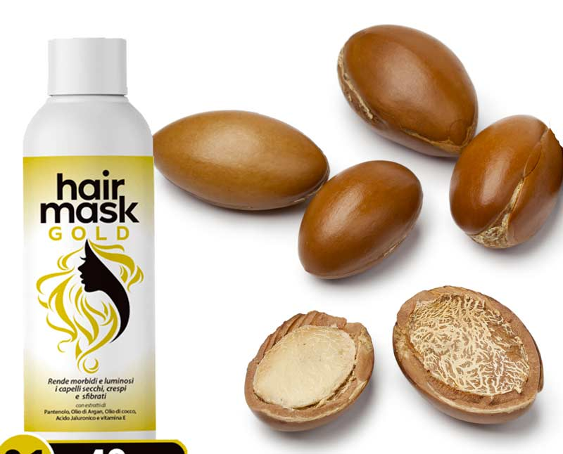 Ingredienti di Hair Mask Gold