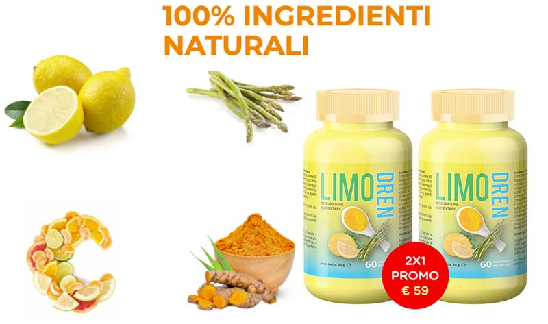 Ingredienti di Limodren