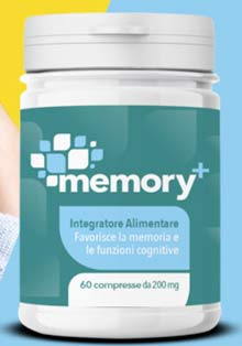 Integratore Memory Plus