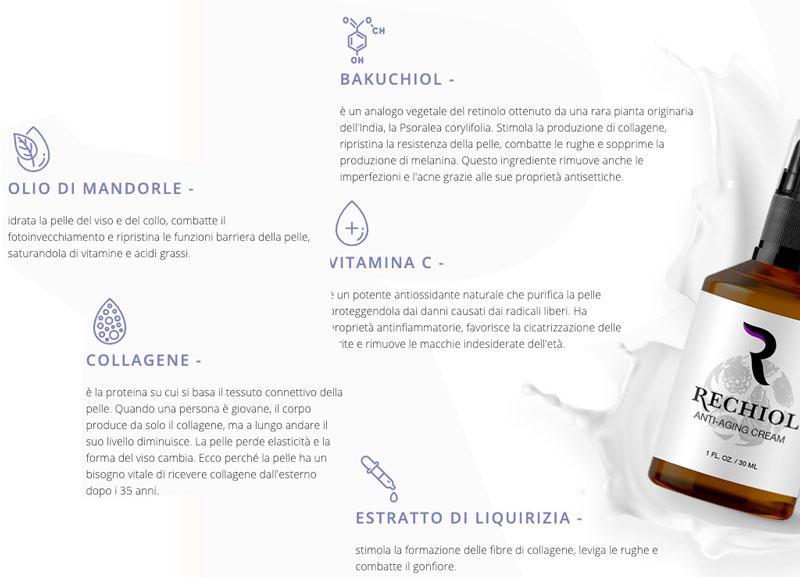 ingredienti di Rechiol