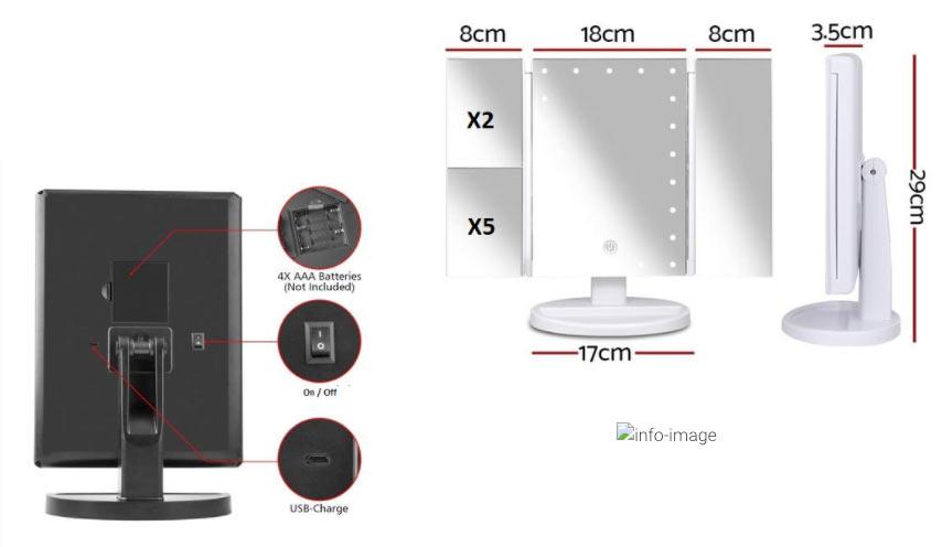 Caratteristiche di Multi Specchio LED