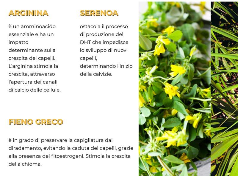 Ingredienti di Chioma Pro
