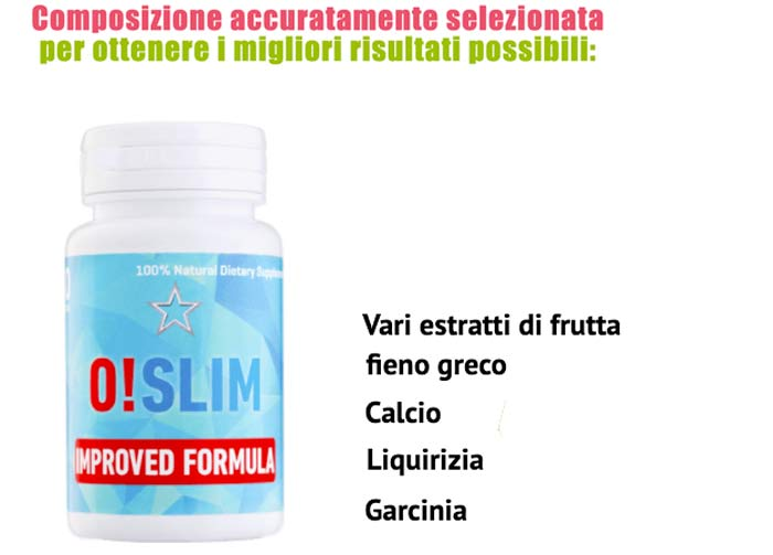 Ingredienti di Oslim