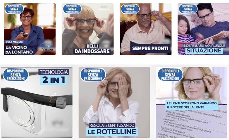 Come funzionano gli occhiali Perfect Vision