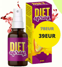 Flacone di Diet Spray