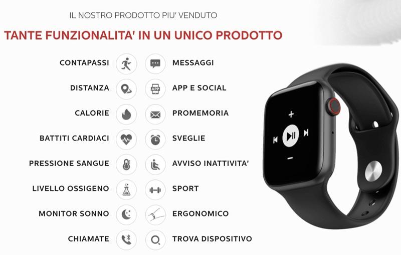 Funzioni di 00X Smartwatch