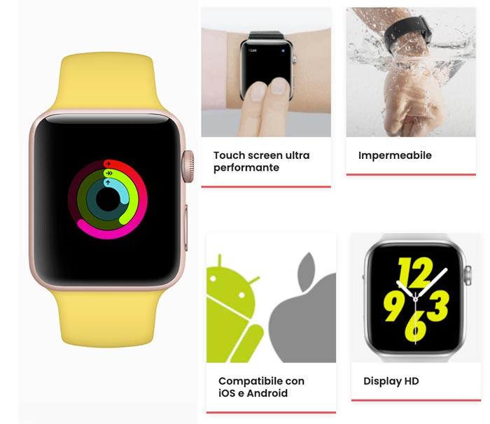 Funzioni dell orologio 00x Smartwatch