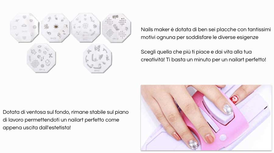 Come funziona Nails Maker