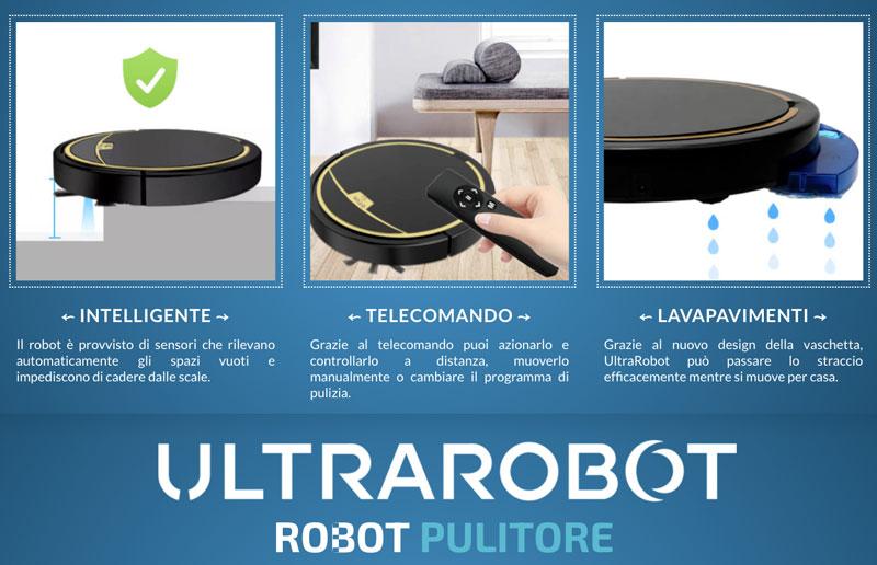 Funzioni di Ultrarobot